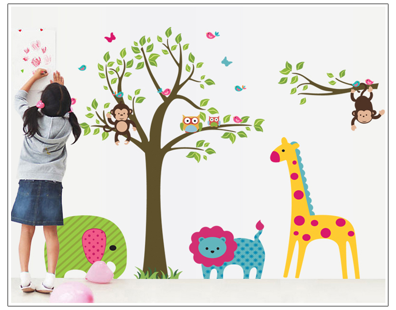 wall sticker art for kids all about wall stickers - Kids Decor
