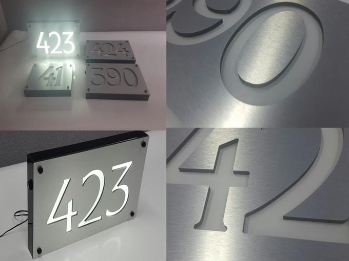 led adress lights